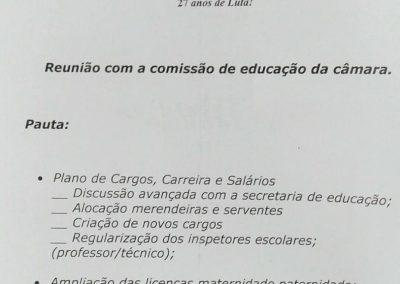 26_10_2017 Reuniao com Comissao da Educacao1