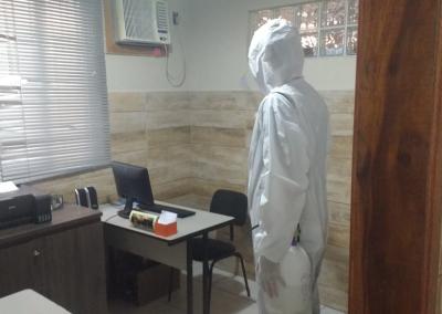 Higienizacao da sede do SINEDUC 12