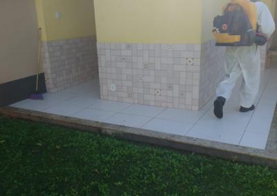 Higienizacao da sede do SINEDUC 5