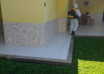 Higienizacao da sede do SINEDUC 7