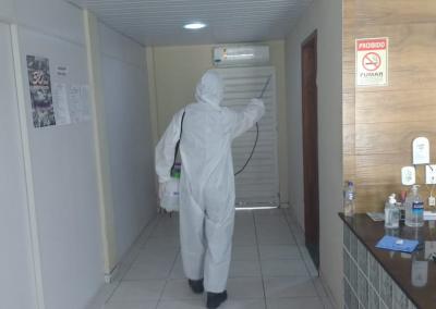 Higienizacao da sede do SINEDUC 8